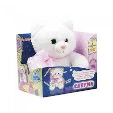 <b>Мягкая игрушка Dream</b> makers Мягкая игрушка Котик-светик ...