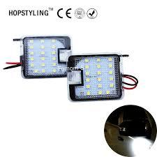 Hopstyling <b>2Pcs for Ford</b> Kuga Focus LED Side Mirror Puddle Light ...