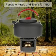 <b>ALOCS</b> Lightweight Outdoor Kettle Teapot <b>Camping</b> Cookware ...