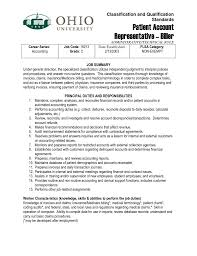 account services resume call center representative resumes template patient service representative resume resume cv cover letter and example template