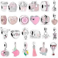 Fit Original Pandora Charm Bracelet Necklace DIY Women Jewelry ...