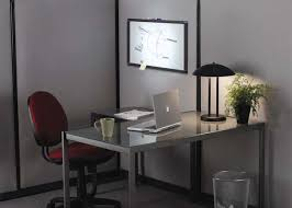 modern glass office design waplag interior interesting home with wall mounted rectangle aluminum clear top computer chic office interior design