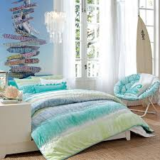 f amazing beach themed bedrooms for teenage girl with single bed above tan solid fiber rugs be equipped cool comforter set as well as lovely folding bed girls teenage bedroom