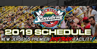 Racing Schedule for New Egypt Speedway