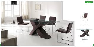 stylish brilliant dining room glass table:  brilliant modern furniture dining room kuyaroom with modern dining room tables