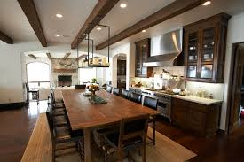 ceiling beams dining room traditional sink exposed beams ceiling view full size rustic mediterranean kitchen
