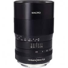 Купить <b>объектив 7Artisans</b> 60mm f/2.8 Macro для Fujifilm <b>X</b>-<b>mount</b>