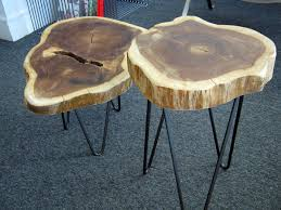 exquisite tree stump coffee table design with black iron legs for awesome inexpensive living room decoration gorgeous tree stump coffee tables collection awesome tree trunk coffee table