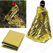 rescue <b>emergent blanket</b> survive thermal mylar <b>lifesave</b> first aid kit ...