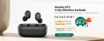 Xiaomi <b>Haylou GT2 TWS</b> Earbuds User Manual: How to Use Haylou ...