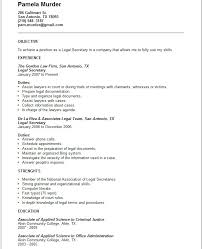 legal secretary resume example   free templates collectionlegal secretary resume example