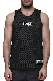 <b>Майка HARD Sleeveless</b> (<b>Black/White-0107</b>, L) | www.gt-a.ru