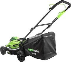 Колесная <b>газонокосилка Greenworks</b> GD 40 LM 45 K4 2500407 UB