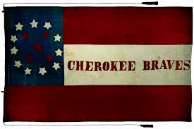 native americans in the civil war cowboys and ns magazine civilwar0112 flag