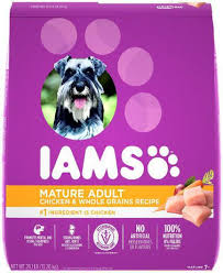 IAMS <b>Mature</b> Adult Dry <b>Dog Food</b> Chicken and Whole Grains Recipe ...