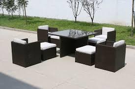 image of black wicker outdoor furniture storage deck box black outdoor furniture