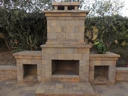 outdoor fireplace paver patio: outdoor gas fireplace san diego campr pavers