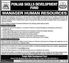 jobs in punjab skills development fund published in express punjab skills development fund