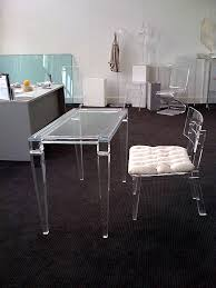 acrylic office chairs. Lucite Desks Acrylic Office Chairs