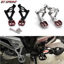 <b>X ADV 750</b> Rear Foot Motorcycle CNC Rear <b>Footrest Foot Pegs</b> ...