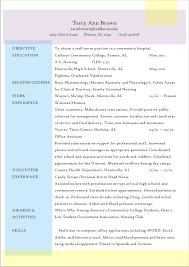 nursing student chronological resume sample ninareads com nursing student chronological resume sample