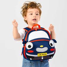 2019 New 3D Cartoon Cars <b>Kids School Bag</b> A4 Book Size Capacity ...