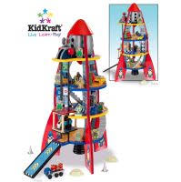Boys Rocket Space Ship KidKraft 63213 - Wooden Toys Direct ... via Relatably.com