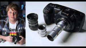 <b>C</b>-<b>Mount lenses</b> on the Blackmagic Pocket 4K - YouTube