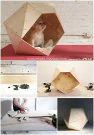 Brilliant DIY Dog Houses With Free Plans For Your Furry    Modern Geometrics   Brilliant DIY Dog Houses With Free Plans For Your Furry Companion