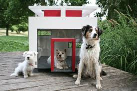Luxury Barkitecture  Amazing Dog House Designs For The Over    Hundehaus Cubix  The Modern Doghouse