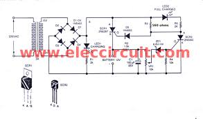 automatic battery charger circuit dry battery charger circuit