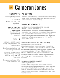 best resume examples 2017 online resumes 2017 administative worker best cv sample