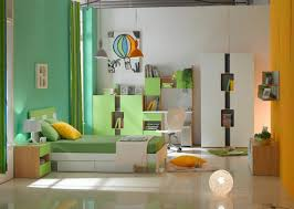 green accent kids bedroom furniture set with study desk chair set with bookshelf and cabinet boys bedroom furniture desk