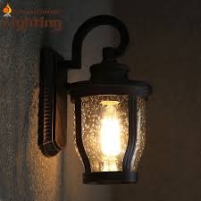 antique waterdrops waterproof design light shade wall sconce modern kerosene lamp outdoor lighting edison vintage bulbs antique courtyard outdoor lighting 1
