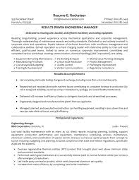 resume examples mechanical engineer resume sample mechanical manufacturing engineering manager resume samples resume templates