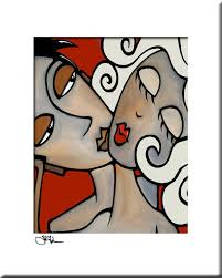 <b>Modern</b> pop Art print <b>Contemporary</b> abstract painting urban face ...