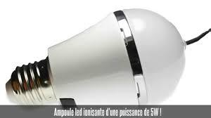 <b>Ampoule led E27</b>, <b>5w</b>, purificateur d'air - YouTube