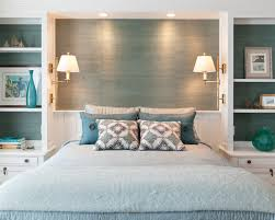 traditional turquoise bedroom ideas with modern double lights ceiling wall lights bedroom