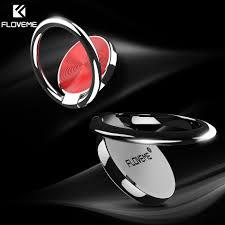FLOVEME Universal Metal Finger Ring Phone Holder For iPhone X ...