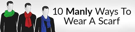 10 Manly Ways To <b>Tie</b> A Scarf | Masculine Knots For <b>Men</b> Wearing ...