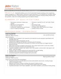 sample resume for civil engineering job resume and cover letter sample resume for civil engineering job resume sample 7 engineering management resume career 36 job winning