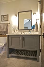 bathroom features gray shaker vanity: this bathroom features a painted maple inset cabinet vanity in a popular warm gray color custom bathrooms pinterest warm popular and cas
