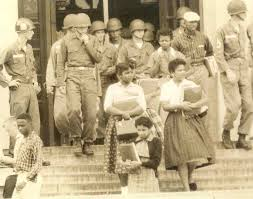 melba pattillo beals the little rock nine anderson institute on little rock nine leave central high in 1957 escorted by iers