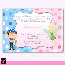 printable pirate fairy pixie princess birthday party invitations printable pirate fairy pixie princess birthday party invitations polka dots girl baby print yourself