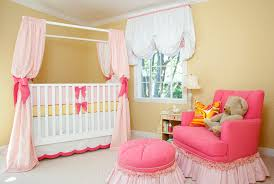 sweet pink yellow baby girl nursery by house of ruby baby nursery cool bee