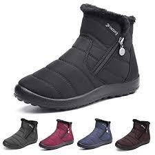 gracosy Warm Snow Boots, Women's Winter Ankle ... - Amazon.com