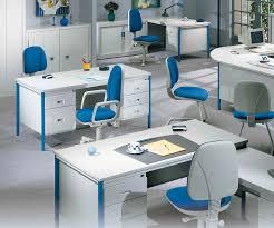 great modern blue glass top modern office
