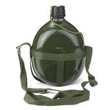 1.5l military canteen <b>aluminum bicycle cycling</b> military <b>water</b> cup ...