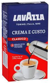 <b>Кофе</b> молотый <b>Lavazza Crema e</b> Gusto, вакуумная упаковка