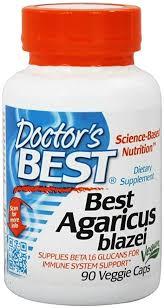 Doctor's Best <b>Agaricus Blazei with BioPerine</b>, 400mg, 90 Vegetarian ...